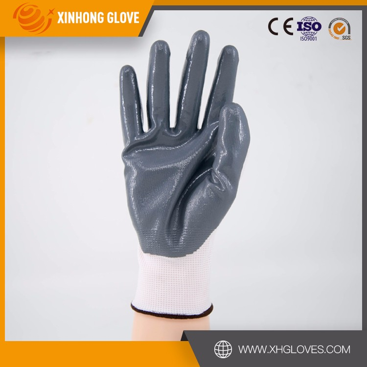 Xinhong cotton coated neoprene fishing hand safe gloves