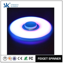 Sanke 2017 Good Design professional glow in the dark tri-spinners plastic hand spinner with R188 bearing