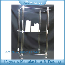 Wholesale Acrylic 3 Layers Clear Cake Stand/Wedding Party Homeware Three Tiered Dessert Display Stand/Cupcake Holder