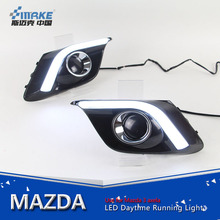 For mazda 3 axela 2014-2016 led daytime running light, led drl for mazda 3 cob drl