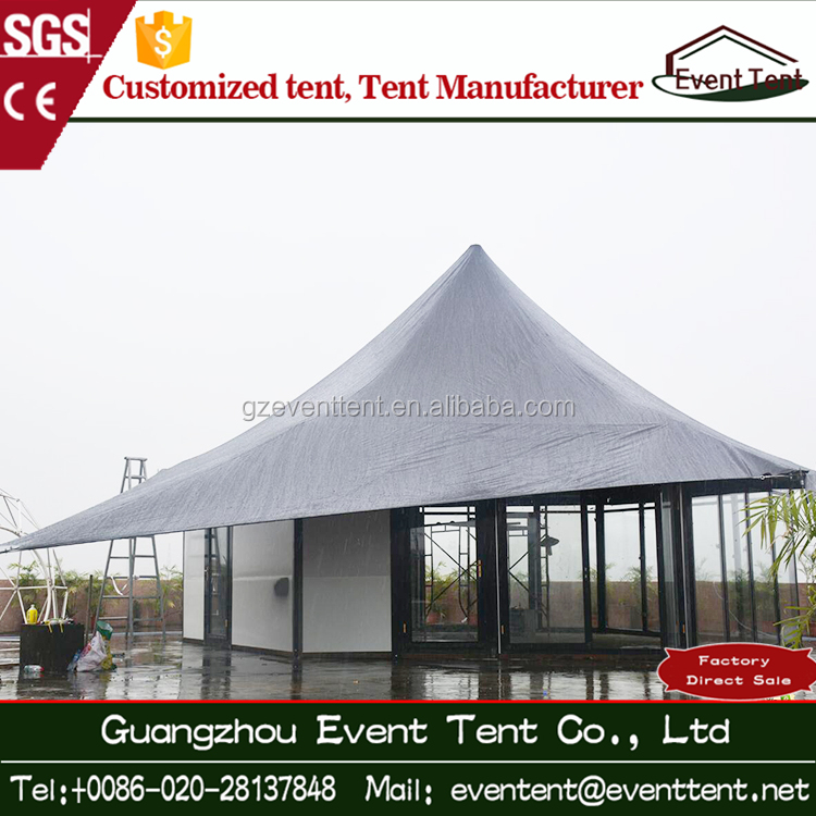 Guangzhou outdoor promotion giant party tents octagon tent for the event or wedding