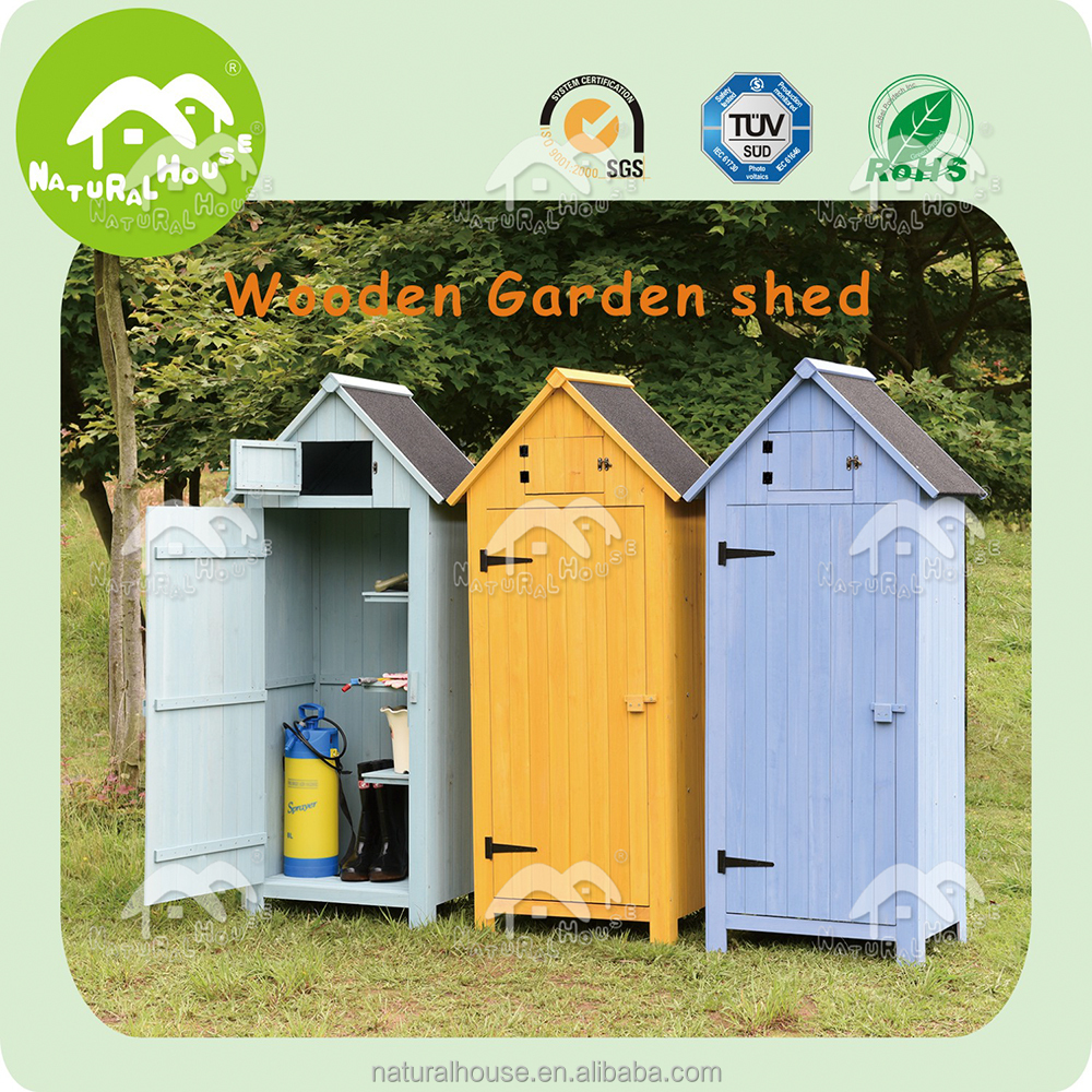 Eco-friendly Easily-assembled Wooden Garden Sheds