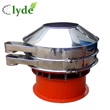 China stainless steal rotary electric soil sifter separator