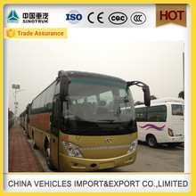 Discount shaolin brand 40 seats new bus colour design luxury passenger bus for sale china manufacture