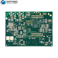 Rayming 0.6mm board thickness pcba, 3 oz copper thickness 6 layer pcb