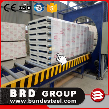 high heat insulationPU sandwich roof panel from BRD Group