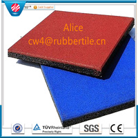 rubber factory/outside wall tiles design /Square rubber tile