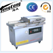 automatic double chamber frozen chicken vacuum packing machine or plastic bag sealing machine with CE certificate