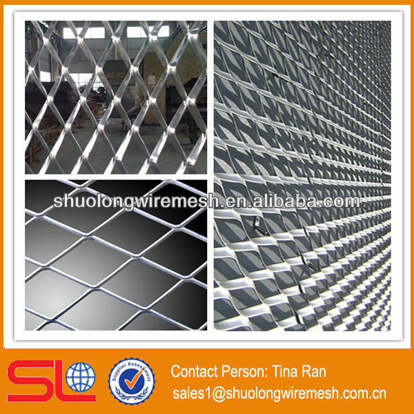 Metal Building Material 5x10 iron stretched expanded metal mesh/small hole expanded metal mesh