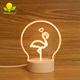2018 New Lights Animal Lamp Flamingo Led Mood Light