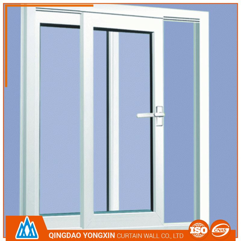 hot selling pvc tracks sliding window with mosquito screen
