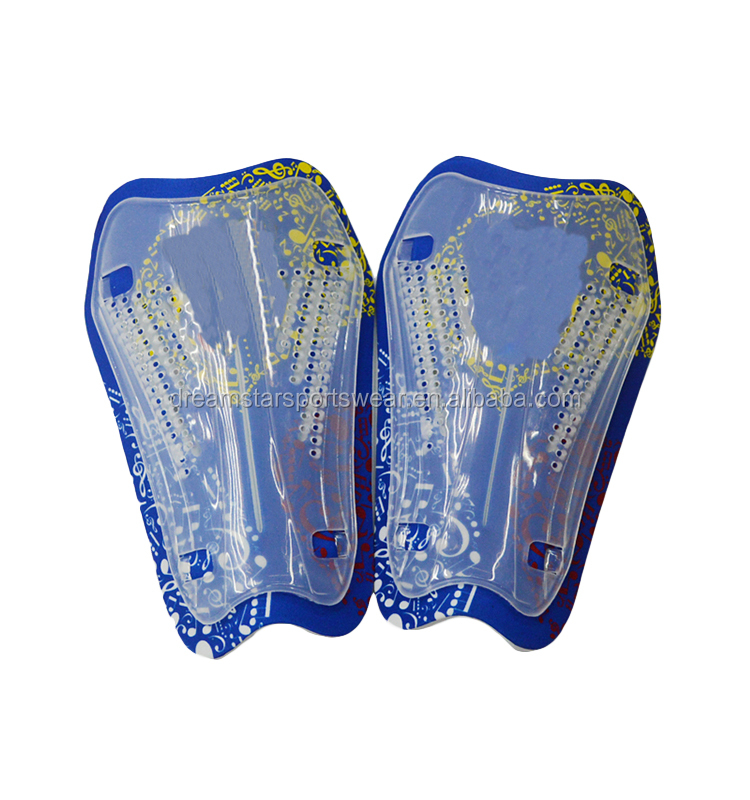 Bulk Sale Comfortable Plastic Soccer Shinguards