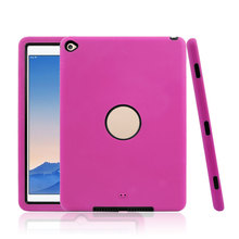 2 in 1 Silicon +PC case for iPad Air 2