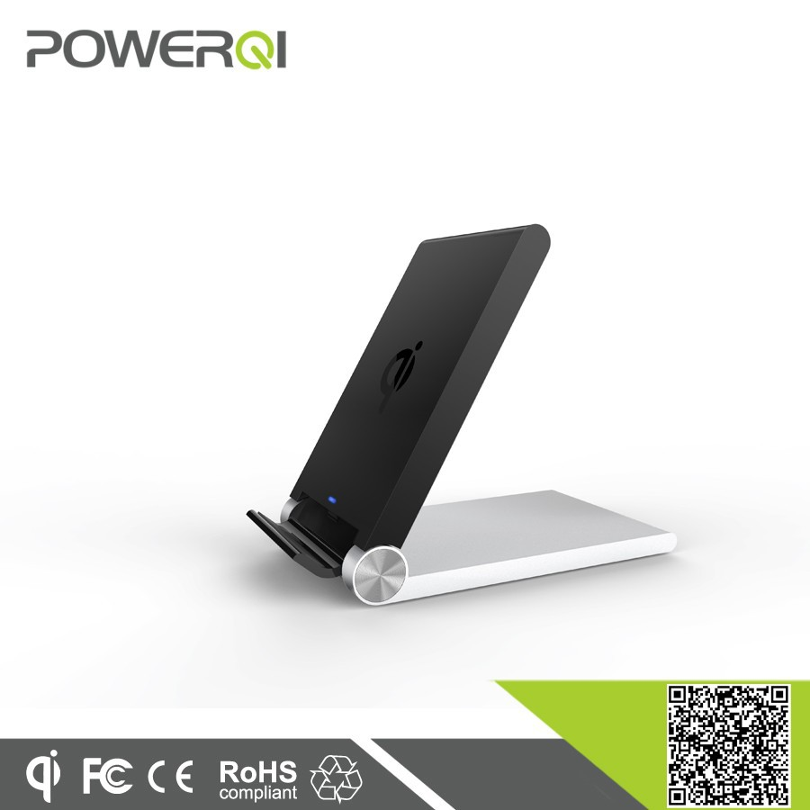 Qi magic universal foldable designed wireless charger for samsung galaxy s5
