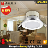high lumen led illumination Ra 80 hole size 200mm 8 inch 18w led spot light downlight aluminum round recessed smd led down light