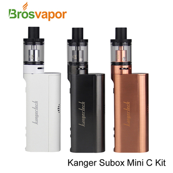 Brosvapor Stock Offer Newest Electronic Cigarette Kanger SUBOX Mini-C Staret Kit With 50W KBOX Mini-C Mod & Protank 5
