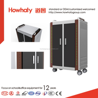Moving charging cabinet for Andoid apple ipad tablet