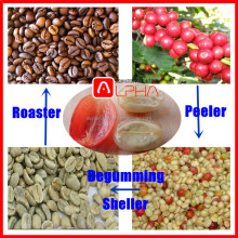 Automatic Fresh coffee beans machine shelling coffee bean grinder Process Line