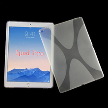 New X line tpu soft Gel skin back cover case for iPad PRO