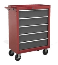 2018 Promotion Tool Cabinet With 5 Drawers On Wheels