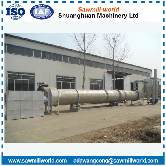 Wood Pellet Dryer Timber Rotary Dryer Drying Kiln For Sawdust