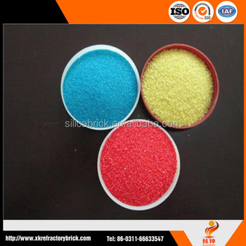 colour sand for stone coating,sand for construction use