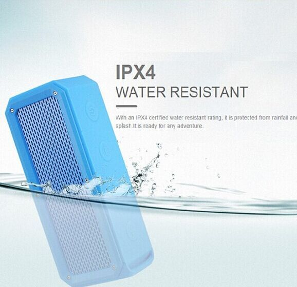 best quality 10W portable water resistant stereo mini digital music box speaker bass enhanced,with built in power bank