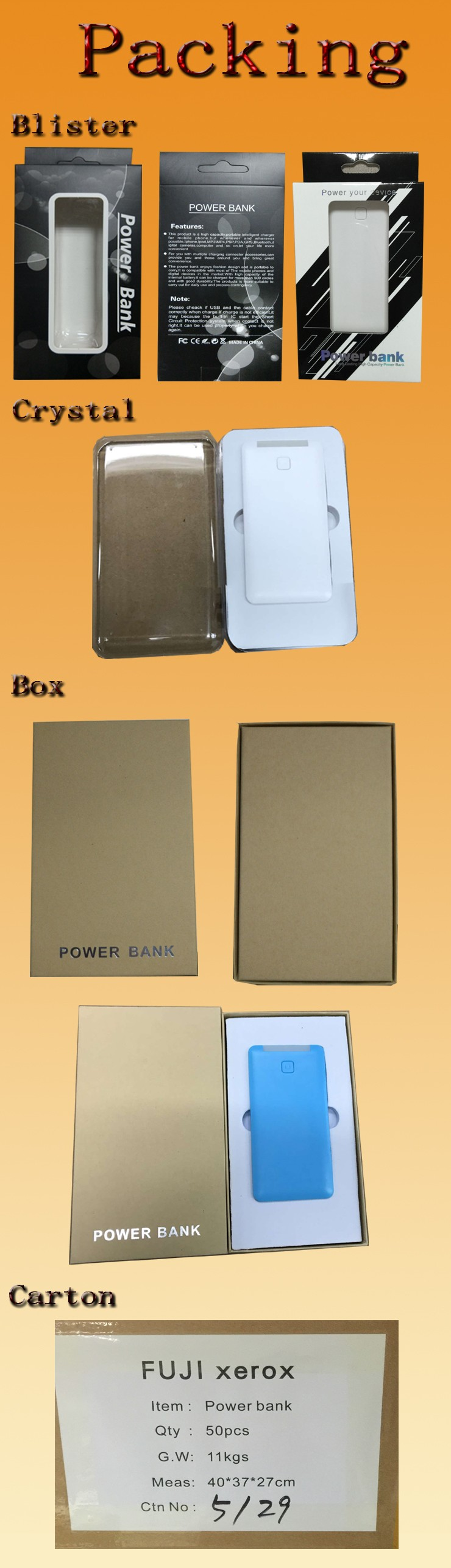 QZD220 2017 Hot selling 5000mAh charging treasure portable power bank with warm hand and hand warmer