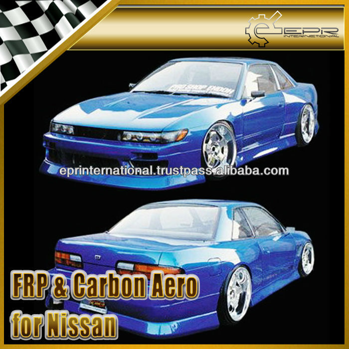 For Nissan PS13 Silvia BN Sports Style Full Bumper Body Kit