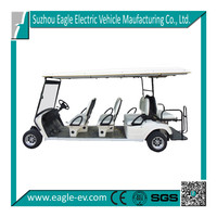 utility buggy, ELECTRIC VEHICLE,ELECTRIC GOLF CART,EG2068KSZ,48V/4KW Sepex,8-PERSON