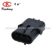 Kinkong 3 Pin Male Delphi Equivalent/Original GM plugs MAP/TPS Waterproof Electrical Car Connector 12010717