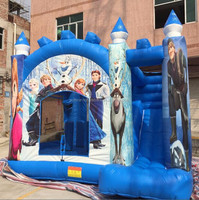 2015 New finished frozen bouncy castle jumping castle used commercial inflatable bouncer for sale