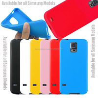 New Gel TPU Silicone Case Cover Pouch Bumper Wallet for Samsung Galaxy S4 IV i9500 / Galaxy S5 V i9600 Red