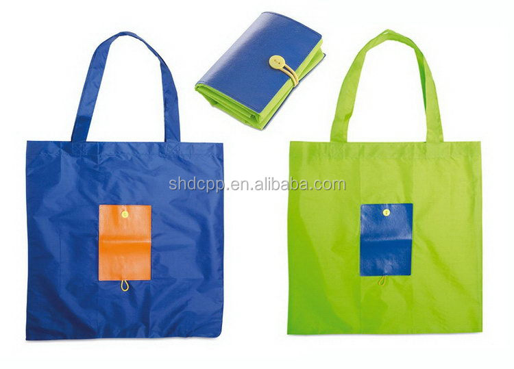 Top grade manufacture nylon tote recycle bag