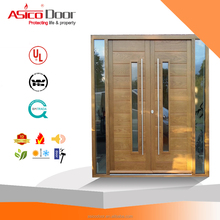 Morden Design Entrance Main Door Glass Door Solid Timber House Door