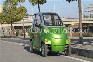 Smart electric sedan 4 wheels easy driving electric car