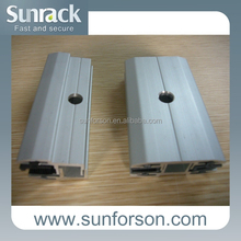 Solar mid clamp,inter clamp/thin film panel clamp