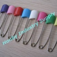 Plastic Lock Head Baby Pin For