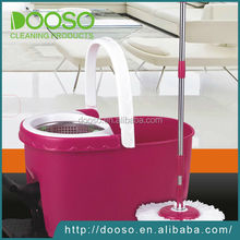 High quality Three device hand pressing 360 degree spin mop