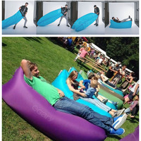 2016 New Product Inflatable Hangout Sofa, Portable Outdoor Microfibre Sleeping Bag^