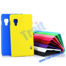 Wholesale Solid Color Rubberized Plastic Hard Case for LG Optimus L5 II E460 Hard Case Back Cover