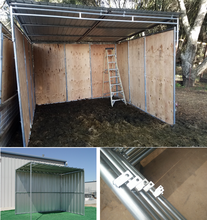 Run In Sheds - Horse Shed Design & Shed Plans
