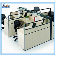 New desgin modern office partition material workstation and pictures of office furniture partitions