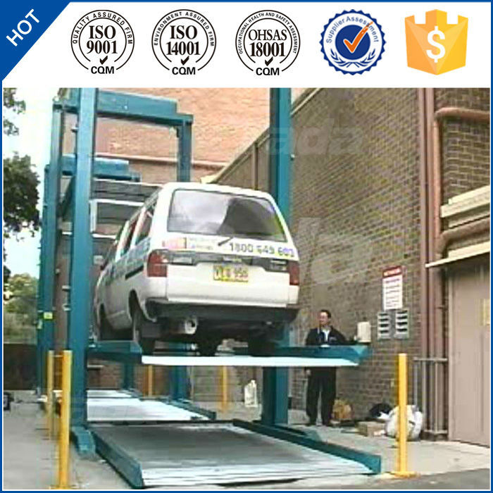 Two Post Tilting Car Parking Lift to mini private cars