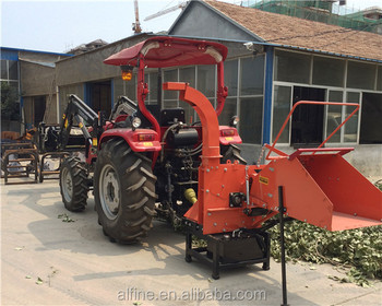 Factory directly sale high efficiency pto wood chipper
