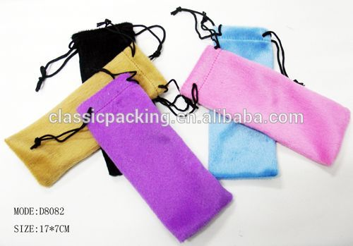 wenzhou reading glasses pouch jewelry bag pouch, small drawstring pouch bag