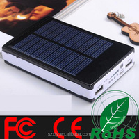 best quality whole sale solar power bank 5200mah enviroemently technology