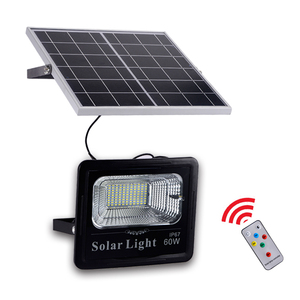 [30% Discount] Factory Wholesale Price 20W 40W 60W 100W Solar Battery Powered LED Flood Lights