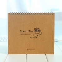 drawing book,sketch pad,wooden color cover note pad