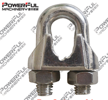 High Quality Manufacture DIN 741 Malleable Fasteners Galvanized Wire rope Clip